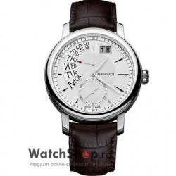 Ceas Aerowatch RENAISSANCE A46941 AA01 Retrograde imagine mica