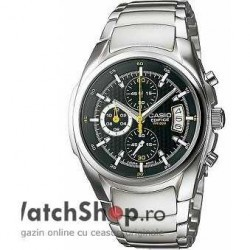 Ceas Casio EDIFICE EF-512D-1AVEF Cronograf imagine mica