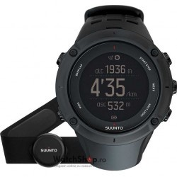 Ceas Suunto OUTDOOR AMBIT3 PEAK BLACK (HR) imagine mica