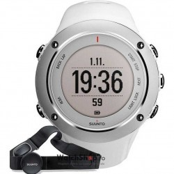 Ceas Suunto OUTDOOR SS020552000 Ambit2 S White HR imagine mica
