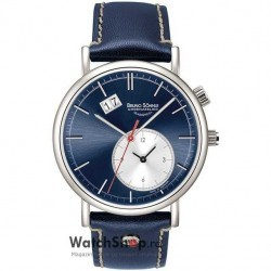 Ceas Bruno Sohnle LAGO GMT 17-13156-341 imagine mica