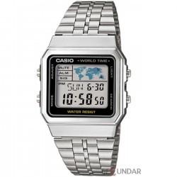 Ceas Casio A500WA-1D Retro Barbatesc imagine mica
