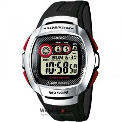 Ceas Casio SPORT W-210-1DVES imagine mica