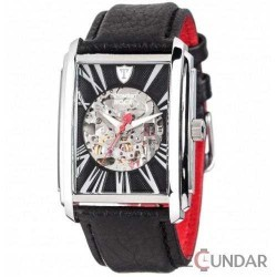 Ceas Detomaso NOCE DT1057-A Automatic Silver/Black Barbatesc imagine mica