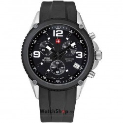Ceas Swiss Military by CHRONO SM34018.02 Cronograf imagine mica
