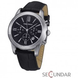 Ceas Time Force Nelson TF4099M01 Black Chronograph Barbatesc imagine mica