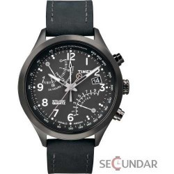 Ceas Timex Intelligent Quartz T2N930 Racing Fly Black Barbatesc imagine mica