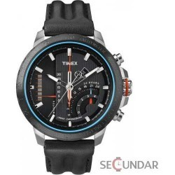 Ceas Timex Intelligent Quartz T2P274 Black Barbatesc imagine mica