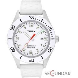 Ceas Timex Originals T2N533 White Barbatesc imagine mica