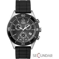 Ceas Timex Originals T2N826 Black Barbatesc imagine mica