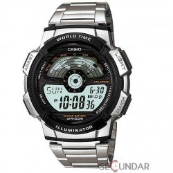 Ceas Casio AE-1100WD-1AVDF Digital Multi-Color Dial Barbatesc imagine mica