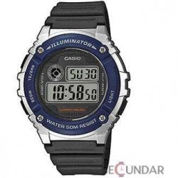 Ceas Casio Youth Digital W-216H-2AVDF Barbatesc imagine mica
