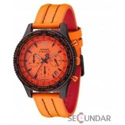 Ceas Detomaso FIRENZE Chronograph Orange/Black SL1624C-OR Barbatesc imagine mica