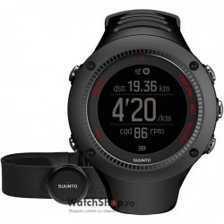 Ceas Suunto AMBIT3 RUN BLACK (HR) imagine mica