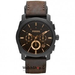 Ceas Fossil MACHINE FS4656 Brown imagine mica