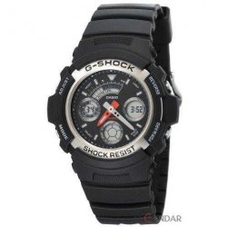Ceas Casio G-SHOCK AW-590-1A Barbatesc imagine mica
