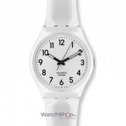 Ceas Swatch ORIGINALS GW151 Just White imagine mica