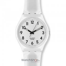 Ceas Swatch ORIGINALS GW151 Just White imagine mica
