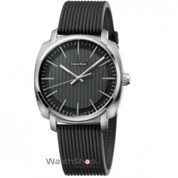Ceas Calvin Klein HIGHLINE K5M311D1 Black imagine mica