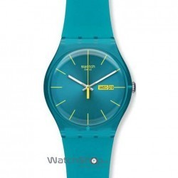 Ceas Swatch ORIGINALS NEW GENT SUOL700 Turquoise Rebel imagine mica