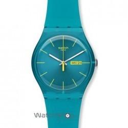 Ceas Swatch ORIGINALS NEW GENT SUOL700 Turquoise Rebel imagine mica