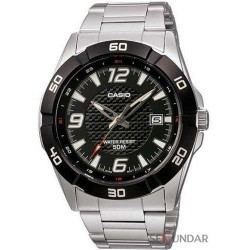 Ceas Casio Metal Fashion MTP-1292D-1AVDF Barbatesc imagine mica
