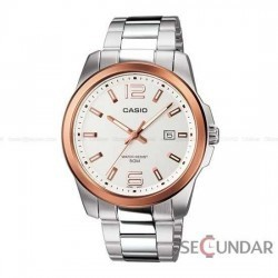 Ceas Casio Metal Fashion MTP-1296D-7AVDF Barbatesc imagine mica
