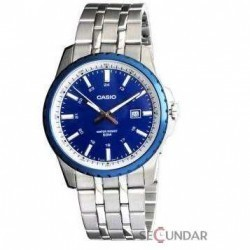 Ceas Casio Metal Fashion MTP-1328D-2AVDF Barbatesc imagine mica