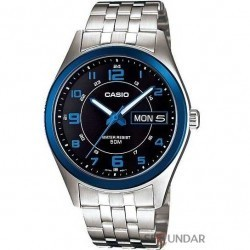 Ceas Casio Metal Fashion MTP-1354D-1BVDF Barbatesc imagine mica