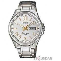 Ceas Casio Metal Fashion MTP-1377D-7AVDF Barbatesc imagine mica