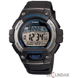 Ceas Casio Solar Powered W-S220-8AVDF Barbatesc imagine mica