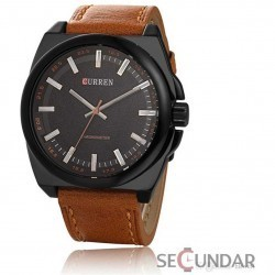 Ceas Curren Luxury Analog M8168 Barbatesc imagine mica
