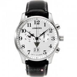 Ceas Junkers IRON ANNIE JU52 6686-1 Cronograf imagine mica