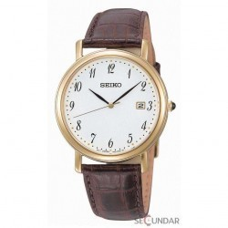 Ceas Seiko Classic SKK648P1 Brown Barbatesc imagine mica